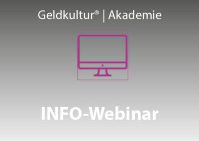 INFO-Webinar Trainerausbildung, 11. Dezember 2018