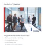 Workshop-Broschüre des Institut für Geldkultur®